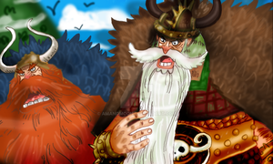 One Piece Chapter 866 YARLE BARBEMONT BARBECADE by Amanomoon