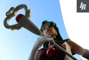 Sailor Pluto with Kyomaster at Anime Expo 2013 by lawrencebrenner