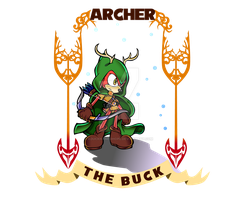 -:: Archer the Buck ::- by aducknamedhope