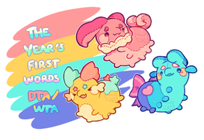 [Closed] DTA/WTA! The Year's First Words by toripng