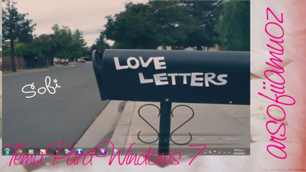 Tema Love Letters by sofiiamuoz