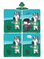 Zebra Crossing #75 by ccartstuff