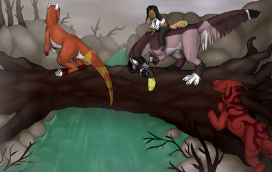 Commission: Dead trees by LadyOf7Sins