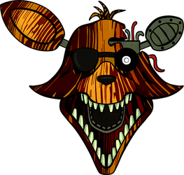 Five Nights at Freddy's - Phantom Foxy by kaizerin