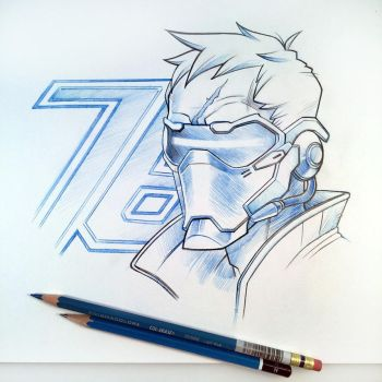 Soldier 76 by D-MAC