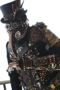 Steampunk Plague Doctor Armor by Opergeist
