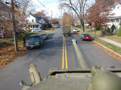 View from a Sherman by therudycometh