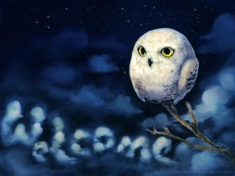 Owl Welcome by IngridTan