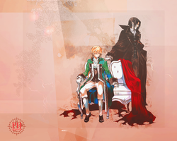 Shadows of the past are bright - Pandora Hearts by hespify