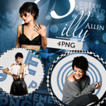 PNG Pack (48) Lily Allen by CraigHornerr