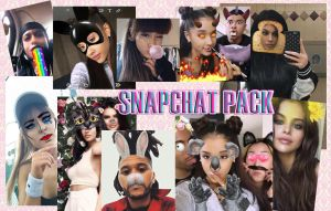 Snapchat pack (png/psd) by GoddessSellyGomez