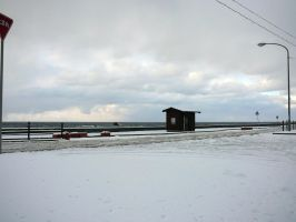 Snow by the Sea 1 by katters