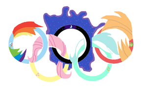 Ponylympic Rings by Norman-Steel