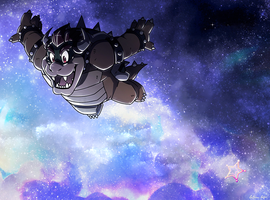 _Super Bowser Galaxy_ by SuperCaterina