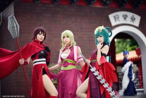Vocaloid - Story of the Three Kingdoms by vaxzone