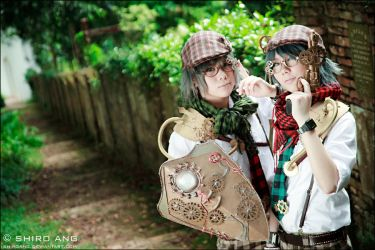 Alice In Steampunkland - 10 by shiroang