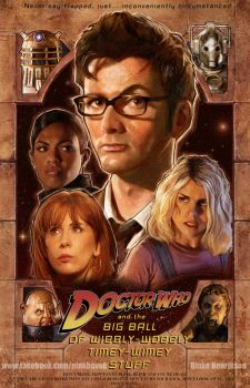 Doctor Who by pinkhavok