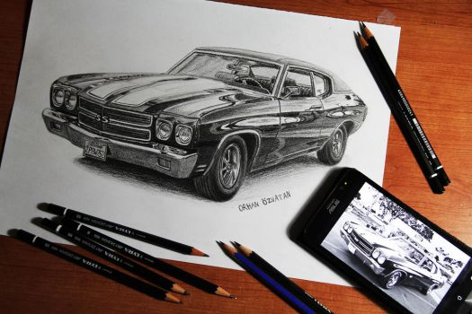 1970 Chevrolet Chevelle SS by orhano