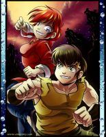 Ranma and Ryoga a little RandR by Amelie-ami-chan