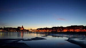 Tervasaari View at Dusk by IndigoBlueNote