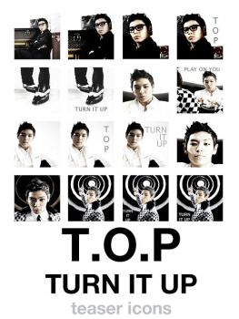 t.o.p - turn it up icon pack by e11ie