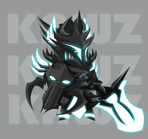 -SK- The Black Knight by KamiKAWZe