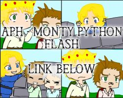 APH - Monty Python Flash by Sakura-Rose12