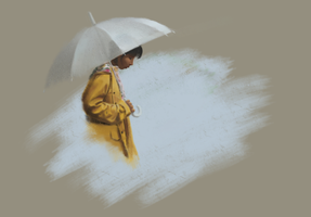 The sound of rain by simbalm