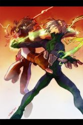 Speedster fight by lychi