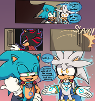 TMOM Issue 9 page 13 ( fanart drawing ) by kamifoxart