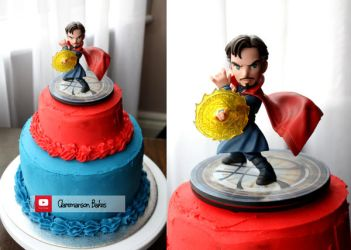 Doctor Strange Cake (+YouTube Video) by claremanson