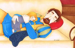 Royal Naptime by chelleface90