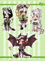 ChibiAdopts-8: CLOSED by mostlyniceAdopts