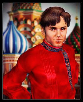 Chekov Portrait by mylochka