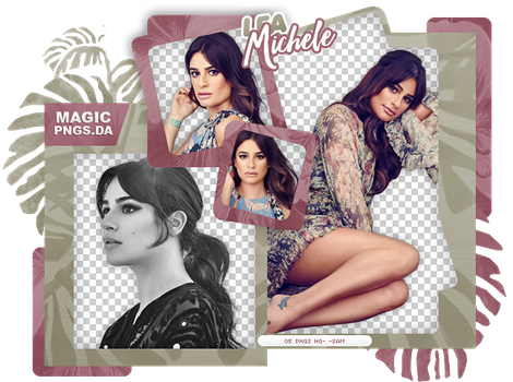 PACK PNG 1004| LEA MICHELE. by MAGIC-PNGS