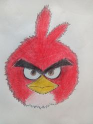 angry bird by TherealLevelZ