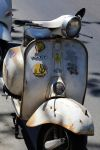 Vespa by the Sea by organicvision