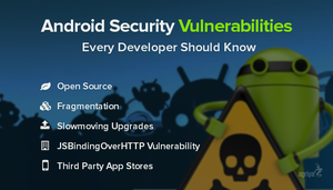 Android Security Vulnerabilities by jameswilliam723