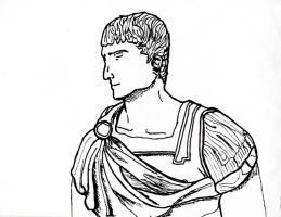 The Roman, Quick Sketch by TheHerdman
