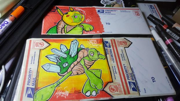Nigma turtle Handmade Stickers by Nigma32