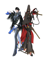 Bayonetta 2 - Mother and Daughter by SilverMoonCrystal
