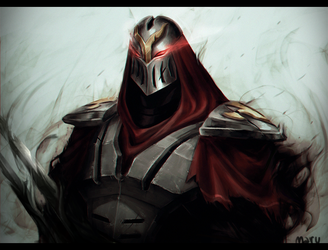 Zed practice by MaruMun