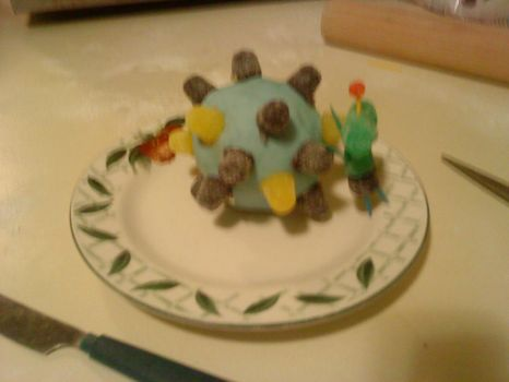 Katamari On A Plate by auralie