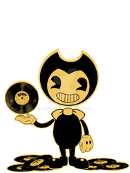 Bendy's Discs by Lunabandid
