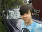 Me and the Chevelle by JSMRACECAR03
