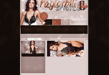 Free design (Taylor Hill) by terushdesigns