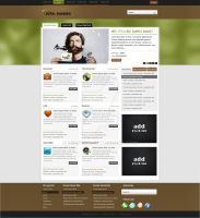 Drupal Theme by preet618