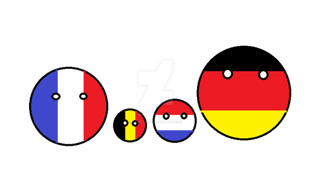 Bel flag is Fra shaped and Ger colored.... by ChaircarMao