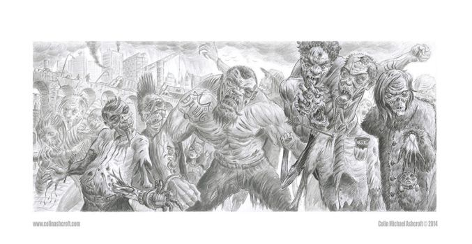 Zombie Hoard web by Colin-Ashcroft