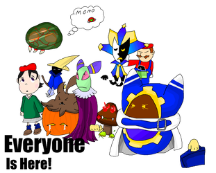 Everyone is here! by PikachuDM